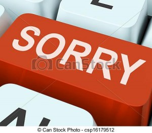 Apology Clip Art 6 300×263