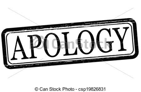 Apology Clip Art 8