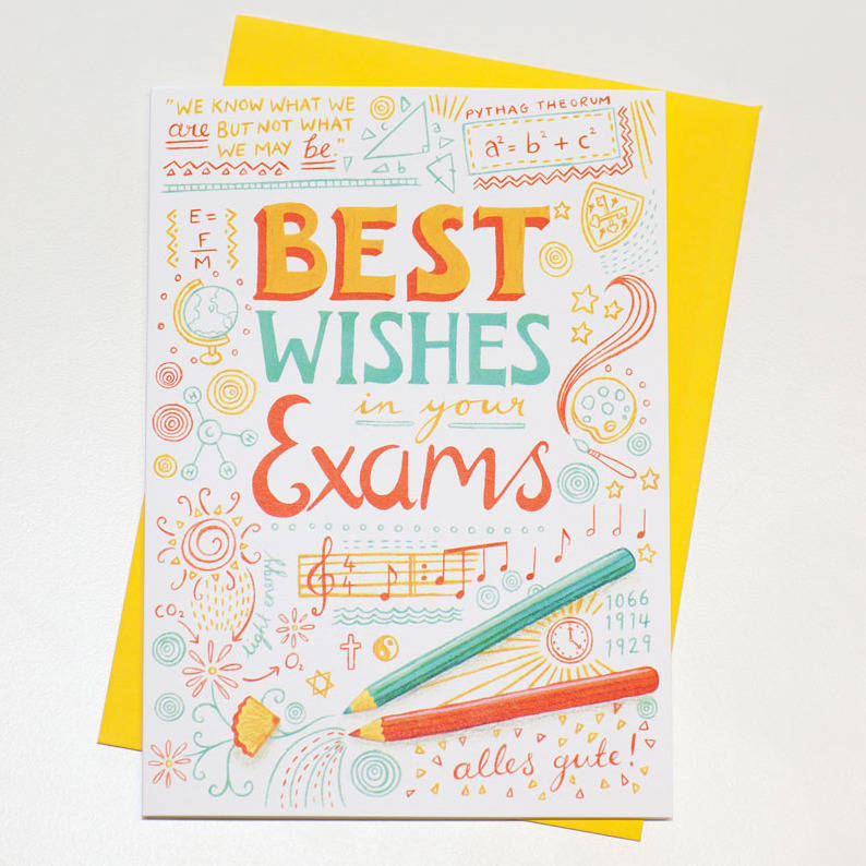 Best Wishes For Exams Cards 6