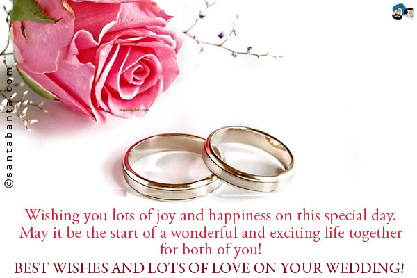 Best Wishes For Wedding Greetings 7