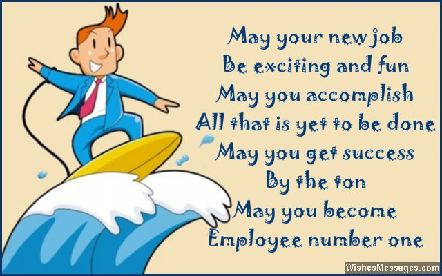 Best Wishes Greetings For New Job 3