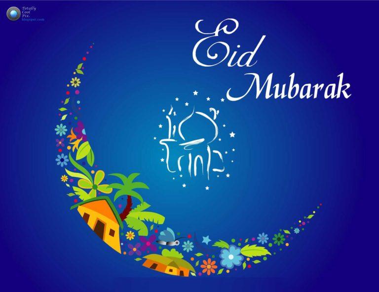Creative Eid Mubarak Card 12 768×591