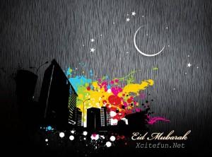 Creative Eid Mubarak Card 2 300×222