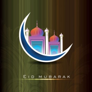 Creative Eid Mubarak Card 8 300×300
