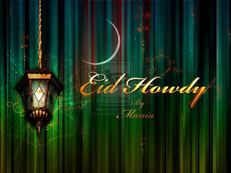 Creative Eid Mubarak Card 9 768×576