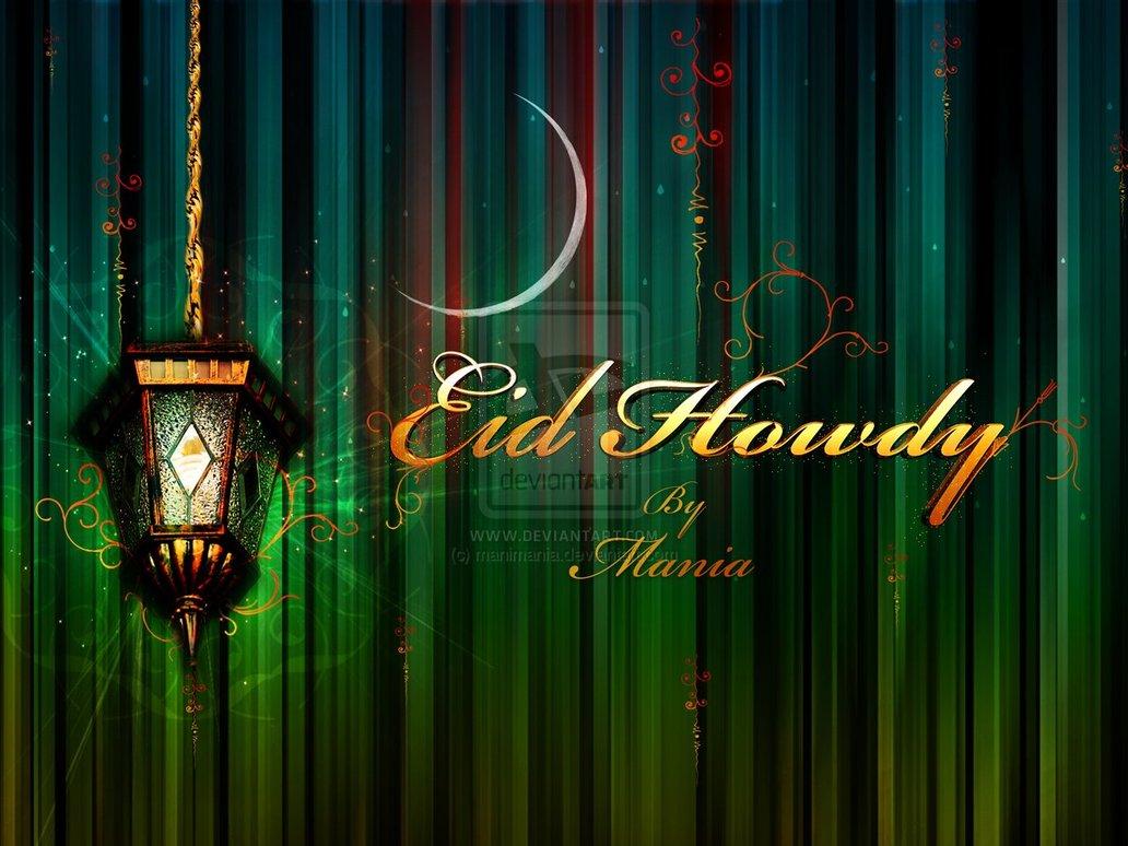 Creative Eid Mubarak Card 9