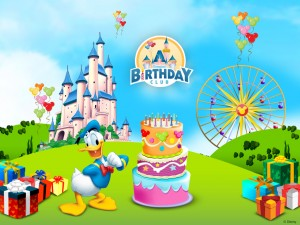 Donald Duck Birthday Wallpaper 7 300×225