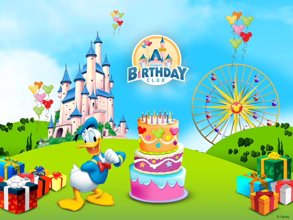 Donald Duck Birthday Wallpaper 7