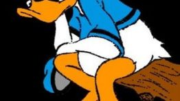 Donald duck sad face - photo#12