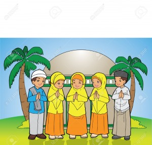 Eid Celebration For Kids Clipart 7 300×287