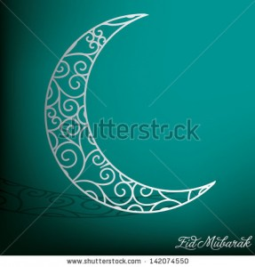 Eid Moon Vector 1 287×300