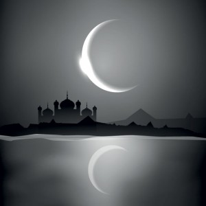 Eid Moon Vector 4 300×300