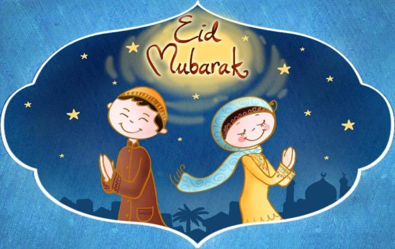 Eid Mubarak Cards For Kids 5 768×486