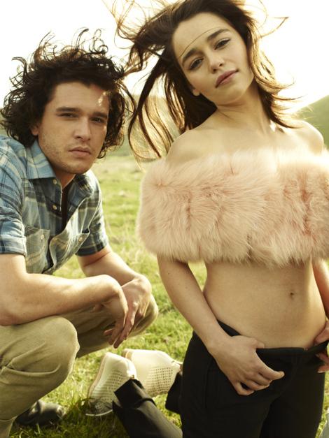 Emilia Clarke Rolling Stone 1