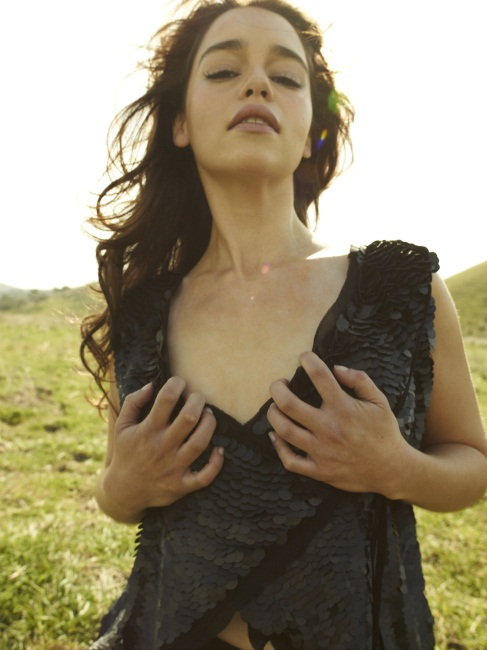Emilia Clarke Rolling Stone 2