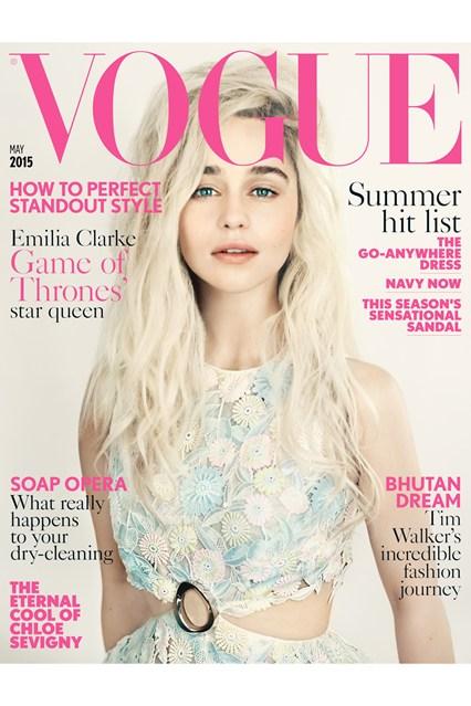 Emilia Clarke Vogue Photoshoot 4