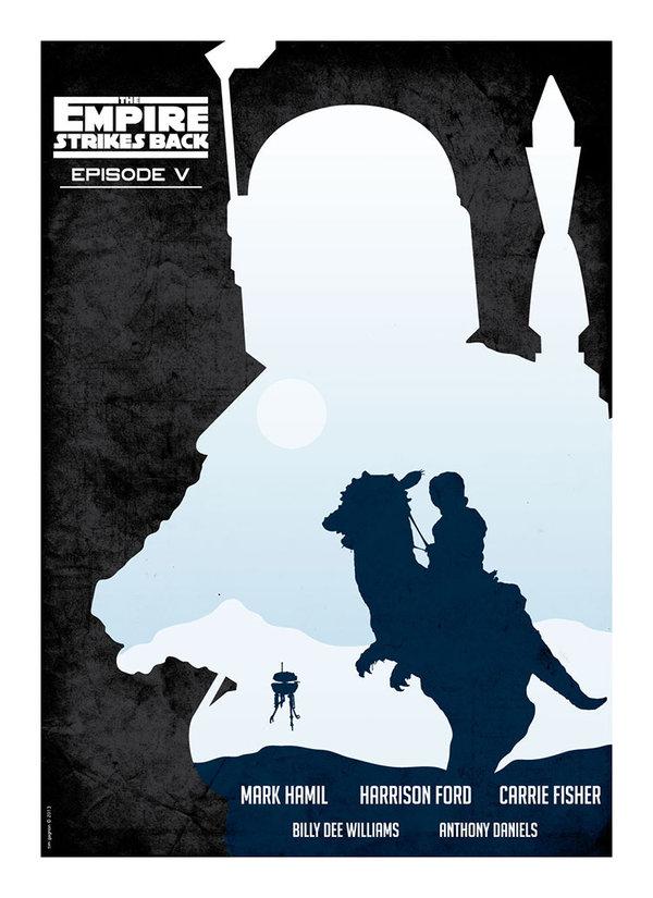 Empire Strikes Back Art Poster