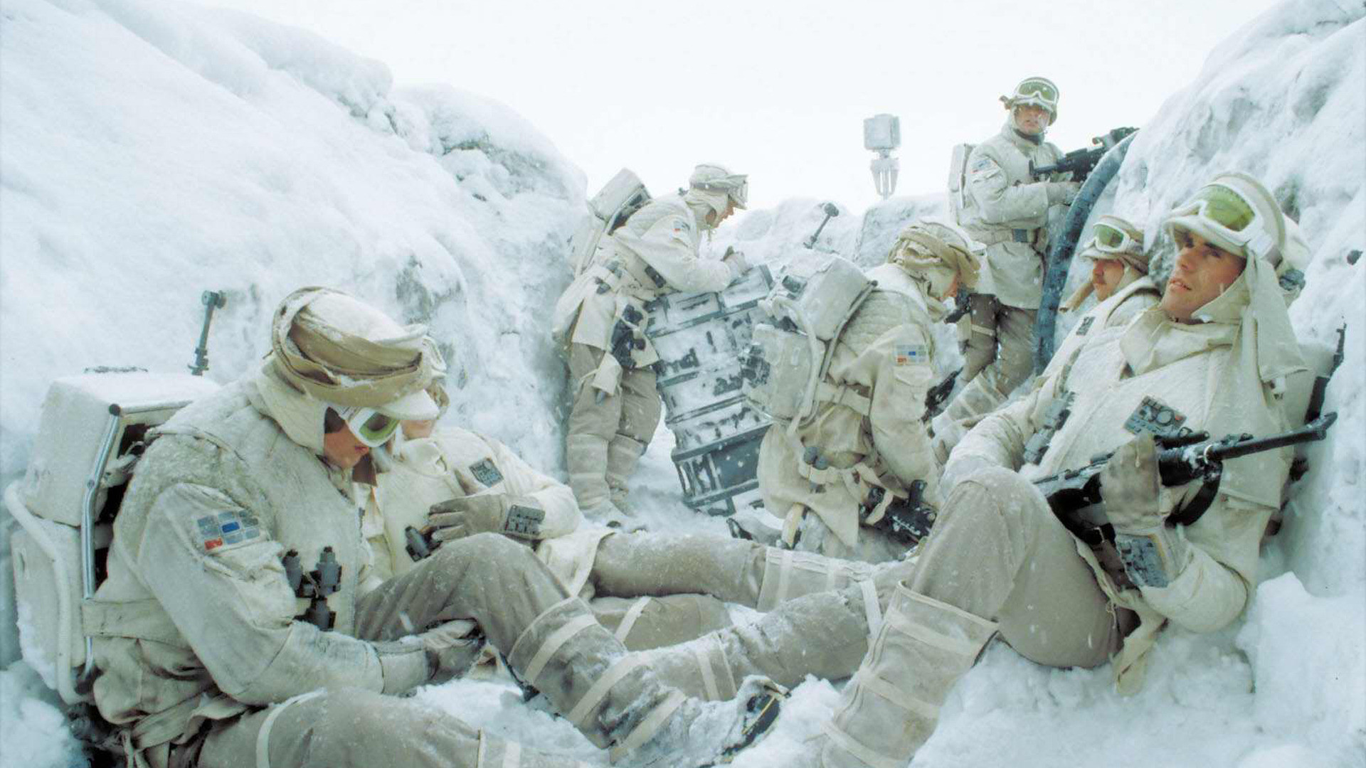 Empire Strikes Back Hoth