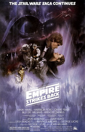 Empire Strikes Back Theatrical Poster