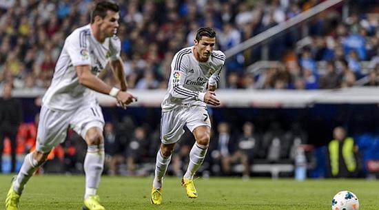 Gareth Bale And Cristiano Ronaldo Free Kick 3