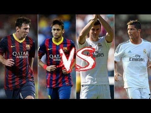 Gareth Bale And Cristiano Ronaldo Vs Messi And Neymar 2