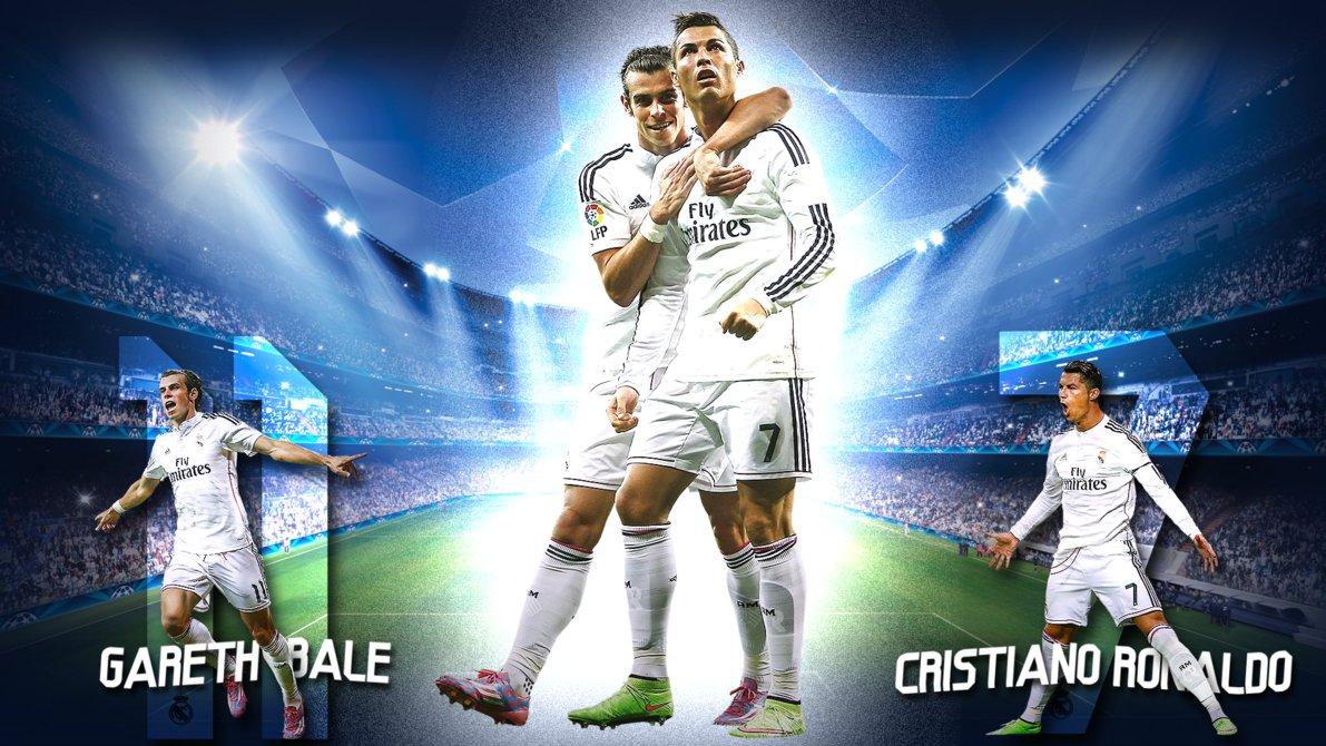 Gareth Bale And Cristiano Ronaldo Wallpaper 2015 5
