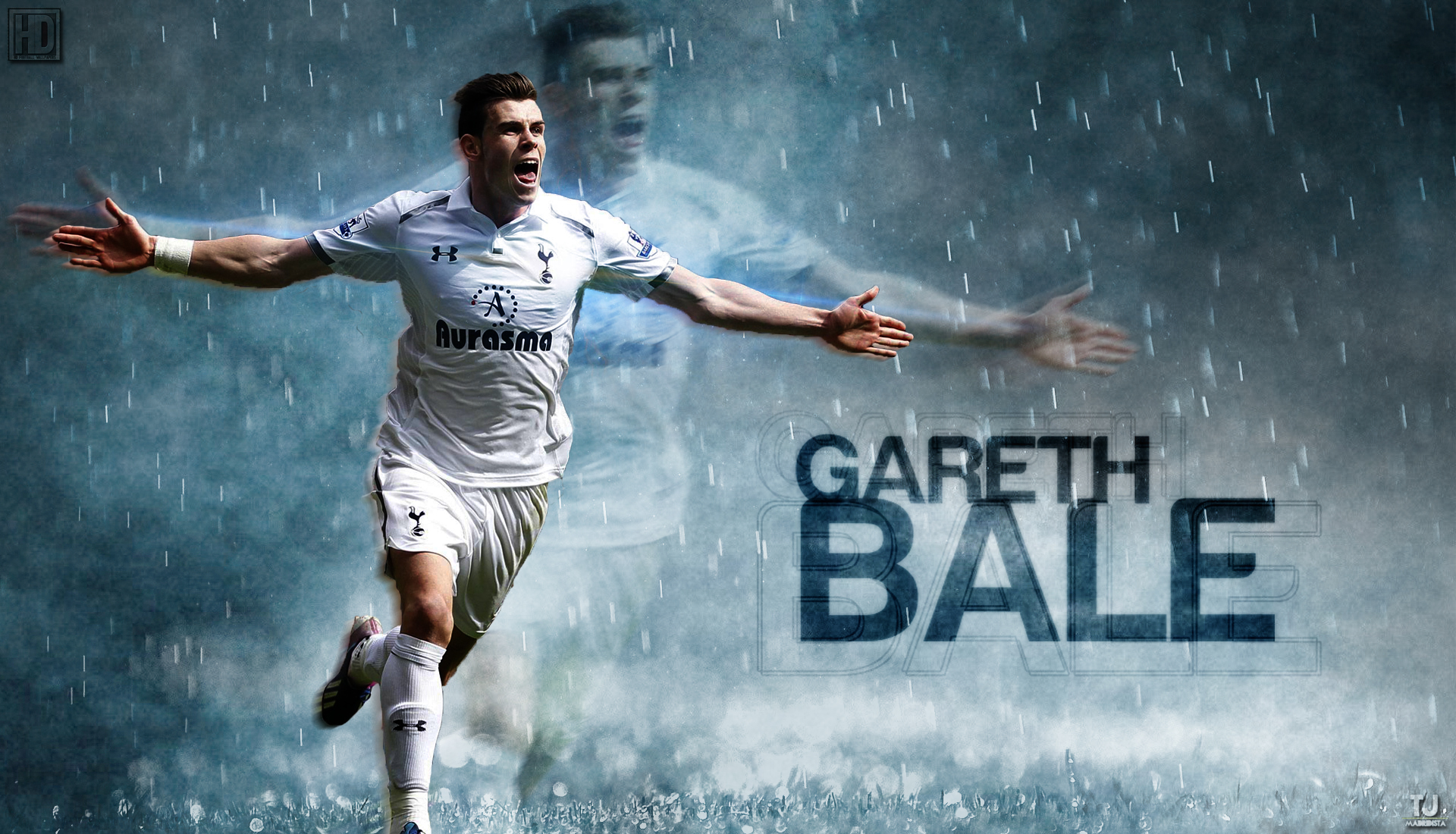 Gareth Bale Celebration Wallpaper 3