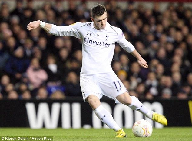 Gareth Bale Free Kick Stance 2