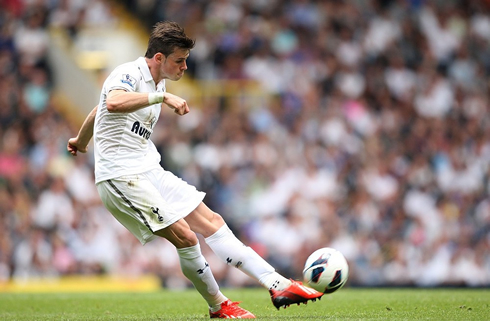 Gareth Bale Free Kick Technique 1