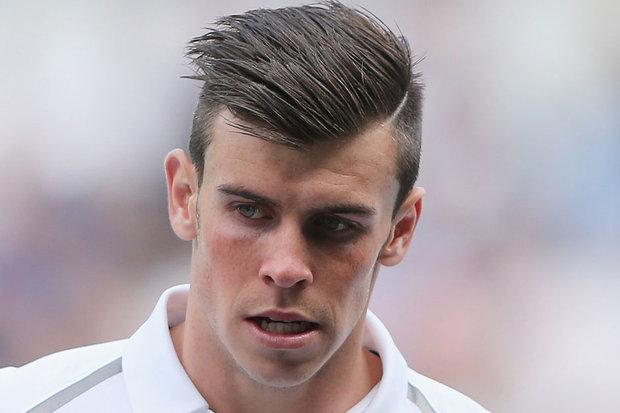 Gareth Bale Haircut 2013 Line 2