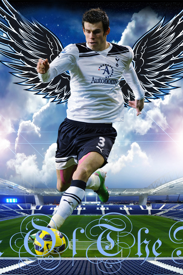 Gareth Bale IPhone Wallpaper 1