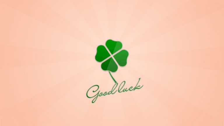 Good Luck Wallpaper 1 768×432