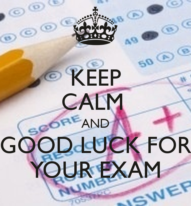 Good Luck Wallpapers Exams 2
