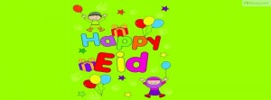 Happy Eid Cartoon 6 300×111