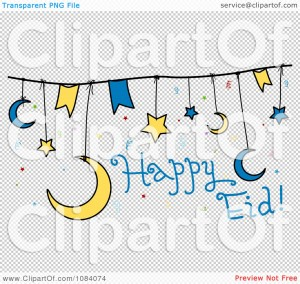Happy Eid Clipart 5 300×284