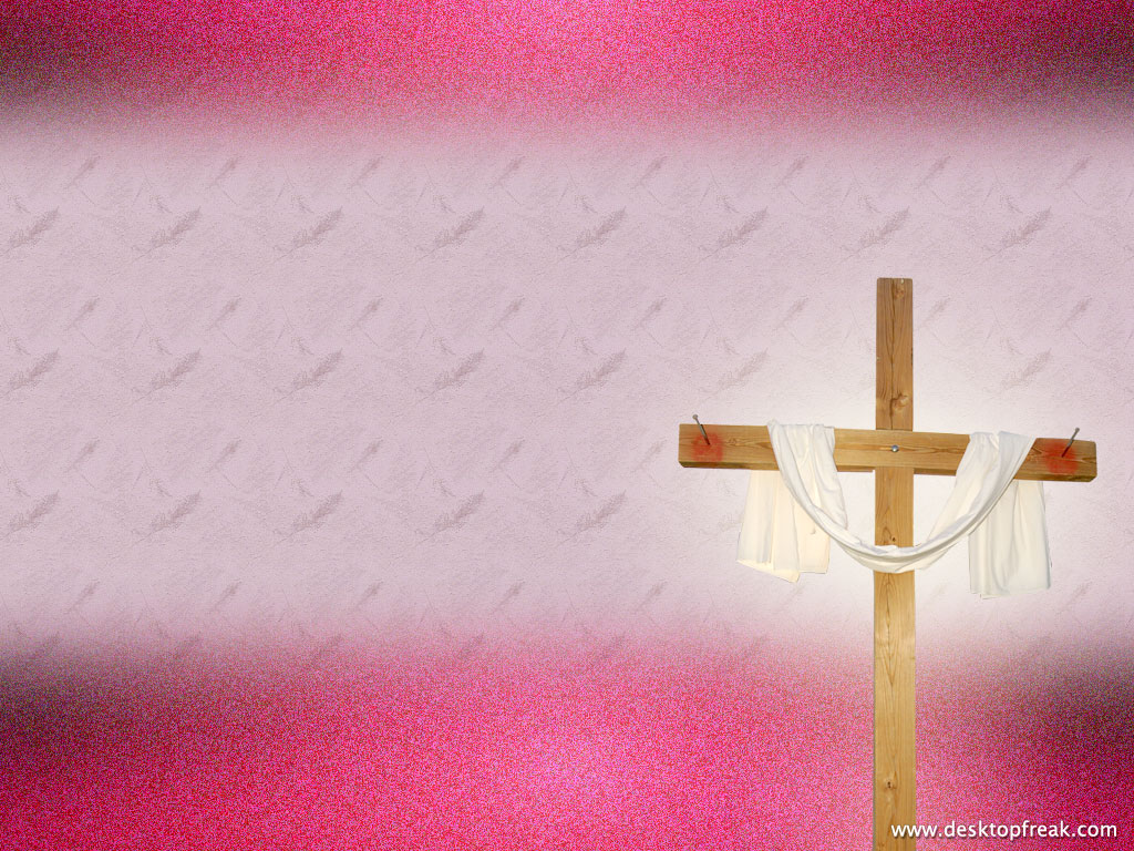 Pink Religious Background 4