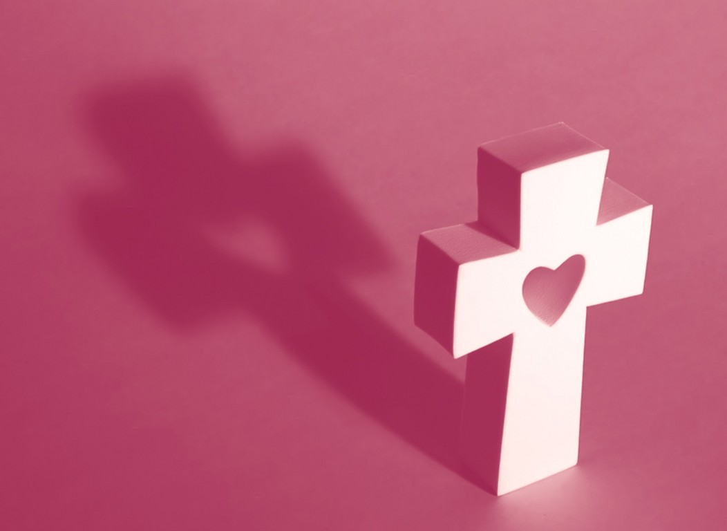 Pink Religious Background 5