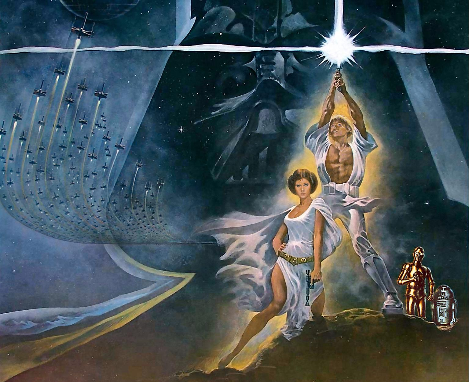 Star Wars Episode IV – A New Hope Wallpaper 1