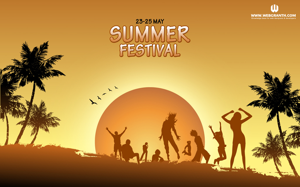 Summer Party Wallpaper 6