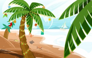 Tropical Holiday Wallpaper 9 300×188