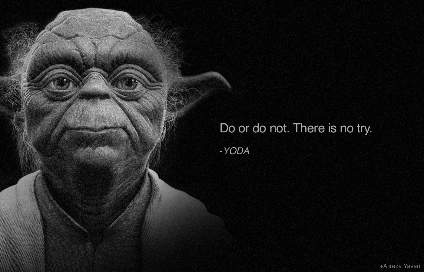 Yoda Do Or Do Not Wallpaper 1
