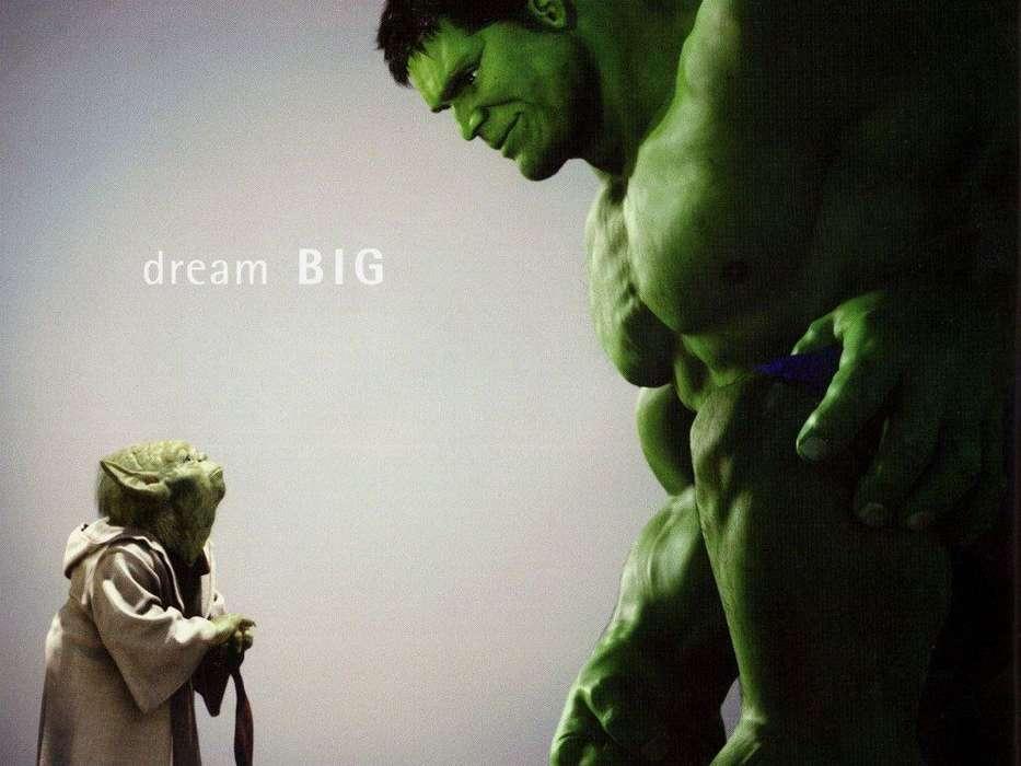 Yoda Hulk Wallpaper 2