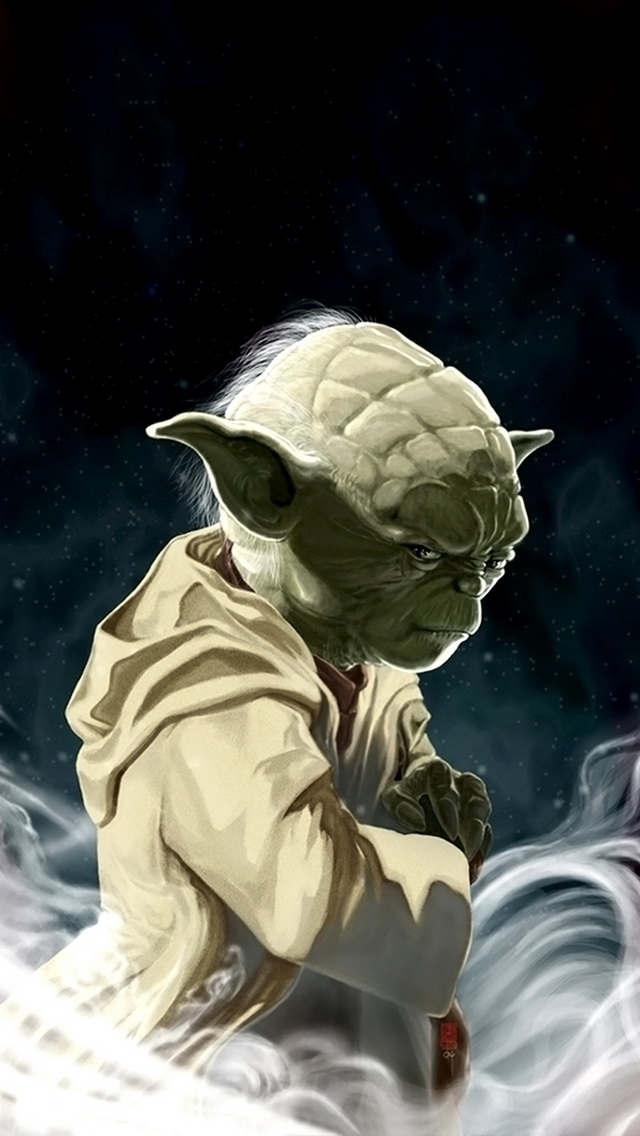 Yoda Wallpaper IPhone 1