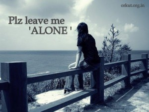 Alone Girl Wallpaper For Facebook (1)