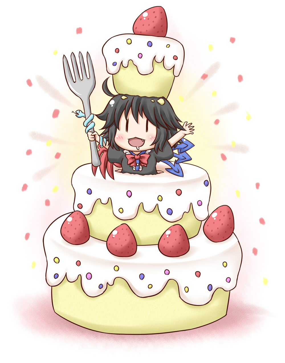 Anime Happy Birthday Cake 12
