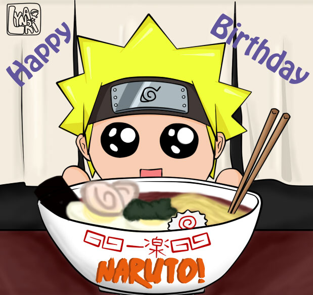 Anime Happy Birthday Naruto 5