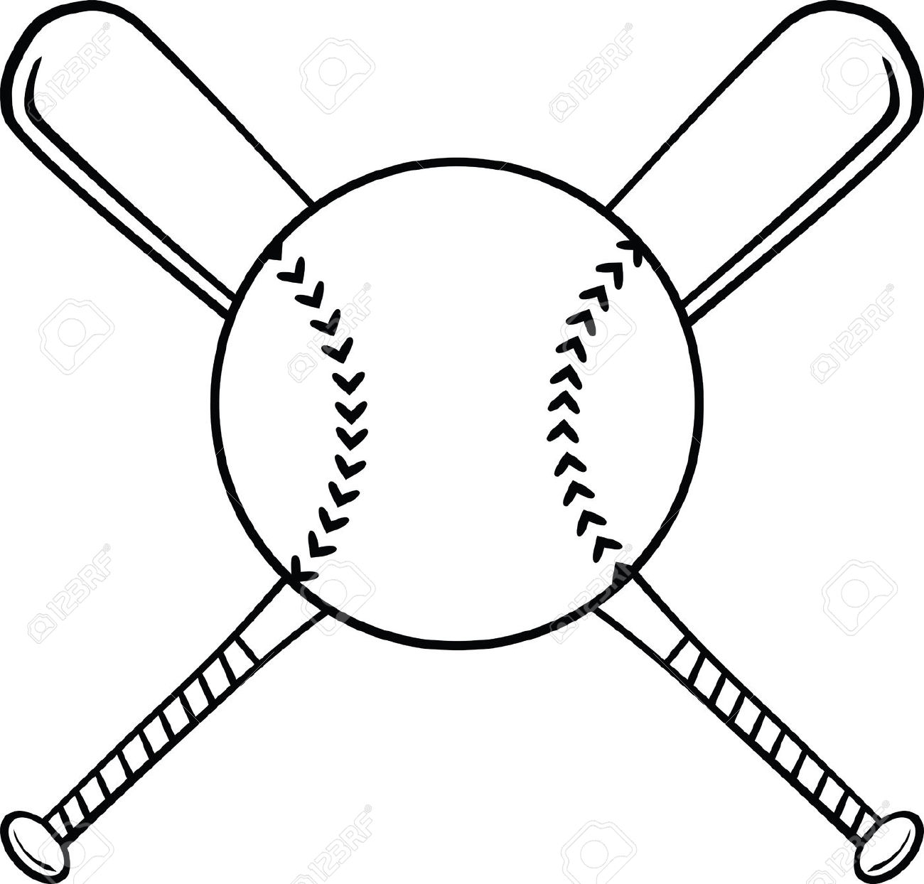 Pics Photos - Baseball Bat Clipart Black And White Field Dimensions
