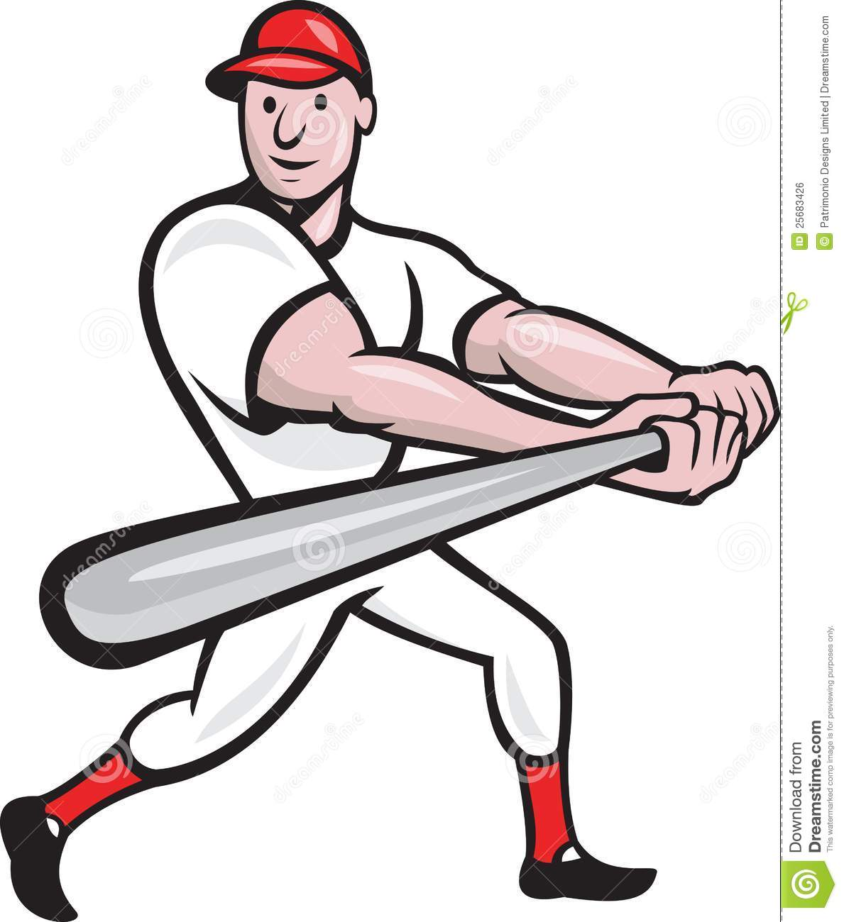 free clipart of a baseball player - photo #27