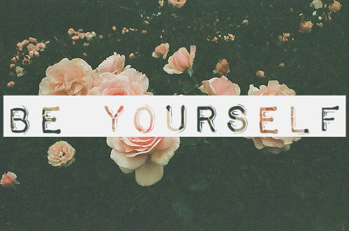 Be Yourself Wallpaper Tumblr 1