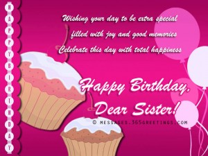 Best Happy Birthday Wishes For Sister 3 300×225